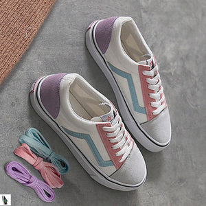 Prettymia Mixed Color Flat Casuals Shoes