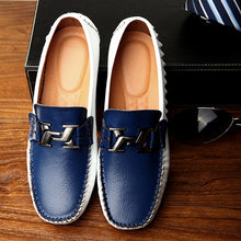 Prettymia Sewing One Foot Pedal Stitching Men's Casual Shoes
