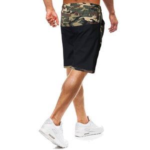 Prettymia Camouflage Splice Tether Men's Pants
