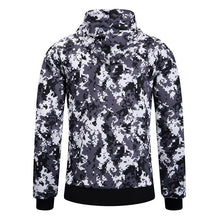 Prettymia Camouflage Hit Color Comfortable England Men's Coat