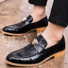 Prettymia Increase Wear Resistant Massage Men's Loafers