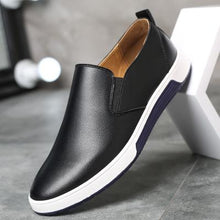 Plus Size Luxury Brand Breathable Leather Men's Shoes