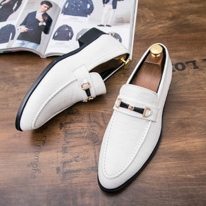 Prettymia Wear Resistant Anti-Slip PU Men's Oxfords