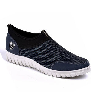 Prettymia Plus Size Comfortable Breathable Mesh Casual Shoes