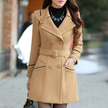 Prettymia Button Pocket Polyester Trench Coats