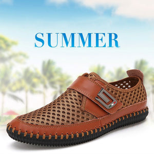 Prettymia Portability Of Ventilated Mesh Surface Men's Sandals