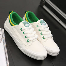 Prettymia Spring Comfortable Lace Up Canvas Shoes