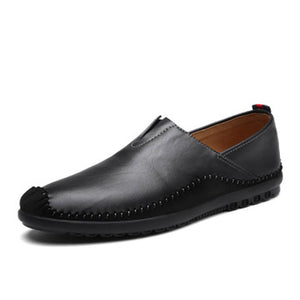 Prettymia Hiking Plain Slip On Men's Casual Shoes