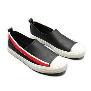 Prettymia Stipe Slip On Men's Shoes
