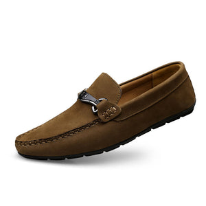 Prettymia Drive Antislip Plain Men's Loafers