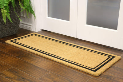 "Border Welcome Mat 18""x48"" - Area Rug Shop"