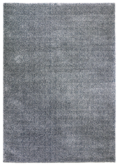 Pixel Grey / Dark Blue - Area Rug Shop