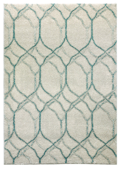 Urban 73 Turquoise - Area Rug Shop