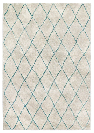 Urban 74 Turquoise - Area Rug Shop