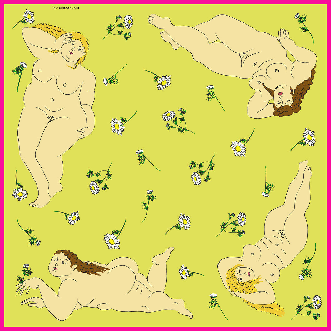 Reclining Ladies Yellow