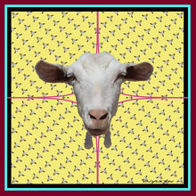 Nonchalant goat (yellow)