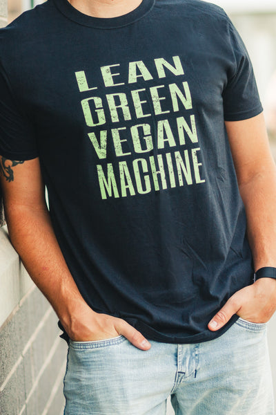 Vegan Outfitters Men's T-Shirt - Lean Green Vegan Machine