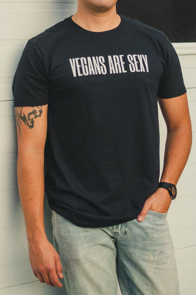 Vegan Outfitters Men's T-Shirt - VEGANS ARE SEXY