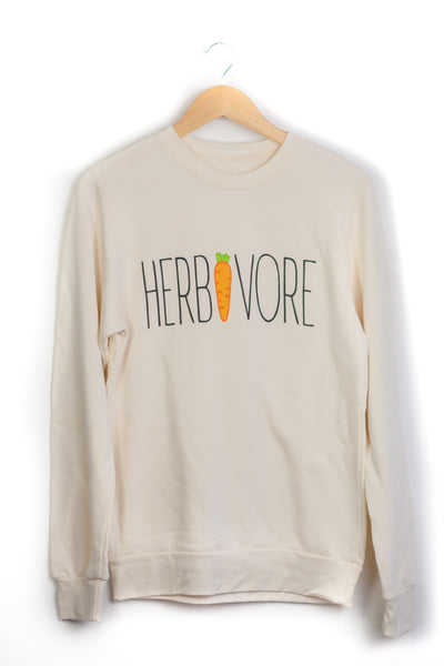 Vegan Outfitters Bamboo Unisex Crew Neck Sweater - HERBIVORE