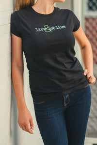 Vegan Outfitters Women's T-Shirt - live & let live