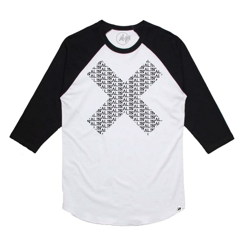 X MARKS IT RAGLAN TEE