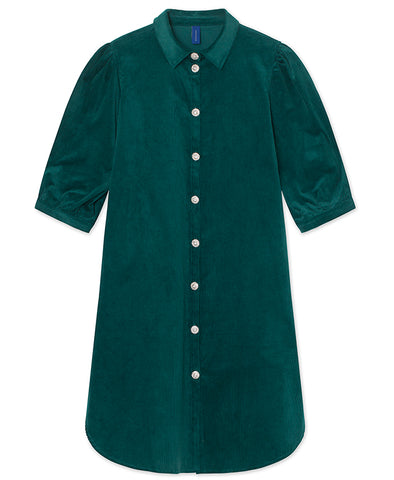 Résumé Copenhagen Apple Dress Ocean Green Cord