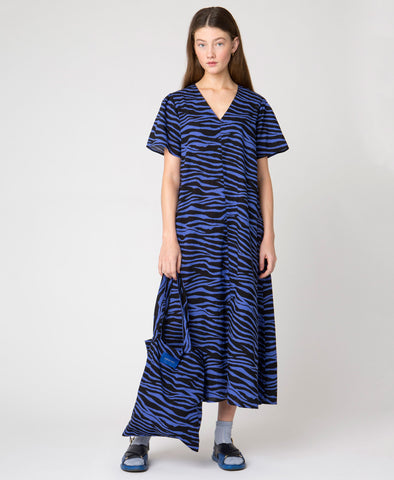 Résumé Copenhagen Umani Dress Blue Tiger