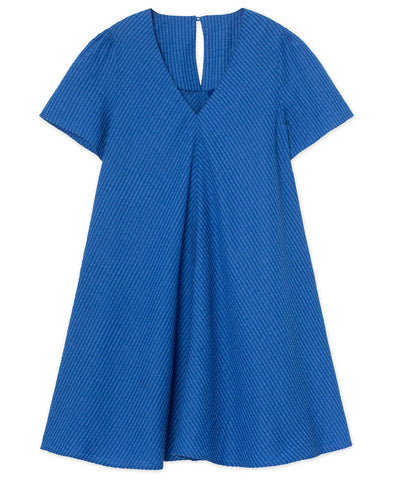 Résumé Copenhagen Ulva Dress Seersucker Cotton
