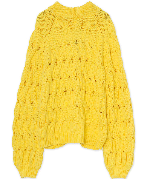 Résumé Copenhagen. Alice Knit Yellow. Studio B Fashion