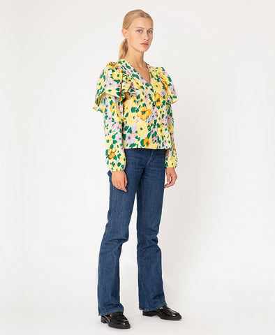 Résumé Copenhagen Claris Shirt Yellow