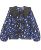 Résumé Copenhagen. Carmenrs Jacquard Blouse Electric Blue. Studio B Fashion