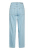 Gestuz. Light Blue Vintage High Waist Straight Jeans. Studio B Fashion