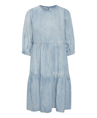 Gestuz Light Blue SammiGZ Denim Dress