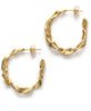 Anni Lu. Seaweed Gold Hoops. Studio B Fashion
