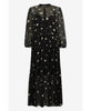 Baum und Pferdgarten. Aia Dotty String Leaves Black Dress. Studio B Fashion