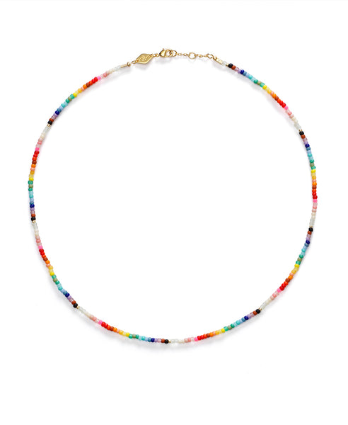 Anni Lu. Nuanua Necklace Rainbow. Studio B Fashion