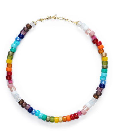 Anni Lu Big Nuanua Necklace Rainbow