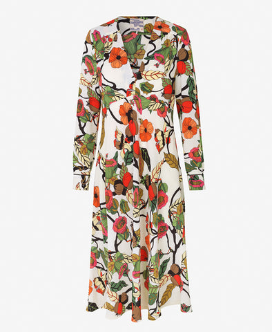 Baum und Pferdgarten Aericka Cream Floral Branch Dress