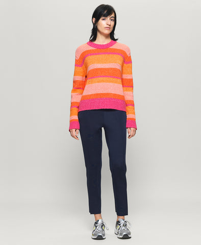 Baum und Pferdgarten Colana Sweater Orange Multi Stripe