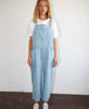 Stella Nova. Agnete Washed Denim Dungarees Flowers. Studio B Fashion.