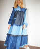 Stella Nova. Linnea Dress Blue Mix Denim Pre SS21. Studio B Fashion.