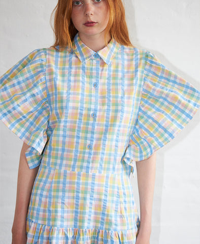 Stella Nova Paya Dress Pastel Mix Checks