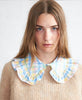 Stella Nova. Beate Top Wide Collar Pastel Mix Check. Studio B Fashion.