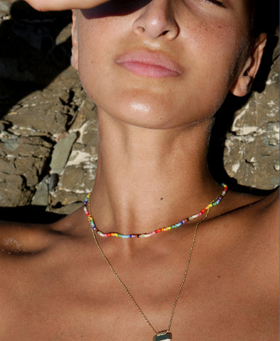 Anni Lu Nuanua Necklace Rainbow