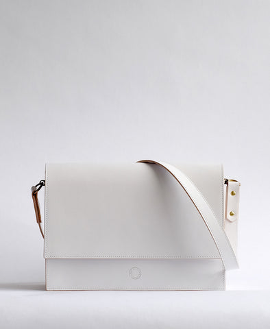 Faraday Cross-Body White