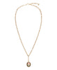 Wilhelmina Garcia Gold Tulip Necklace