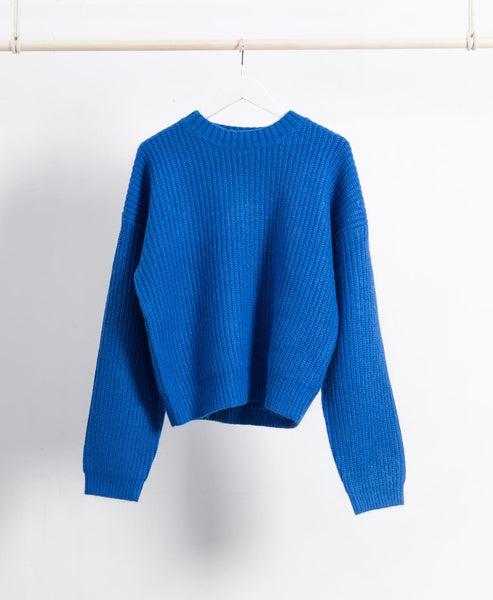 Wool Blend Knitted Jumper