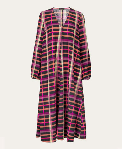 Stine Goya Brooklyn Dress Plaid Print
