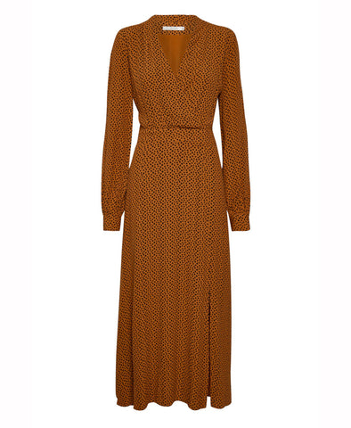 Gestuz Spotia Dress Umber Dot