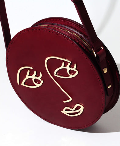 Love Burgundy Satchel